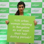 Actress Kriti Sanon breaking period taboos at Whisper #TouchThePickle campaign in Bangalore