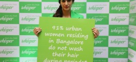 Whisper begins journey to break India's period taboos